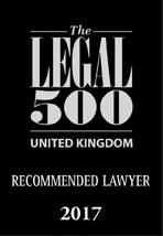 WJM - Legal 500 reommmended lawyer