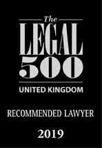 WJM - Legal 500 recommmended lawyer