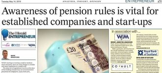 Pension Rules Advice in The Herald