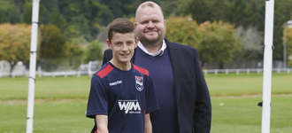 WJM Renews Sponsorship of Ross County U14s