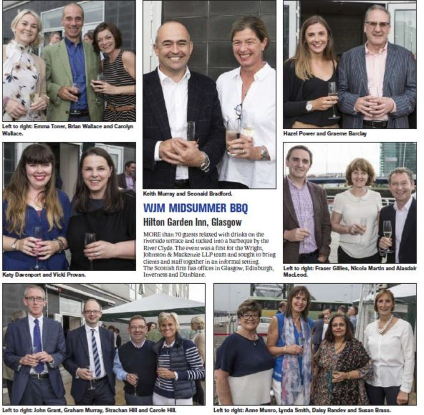 WJM SUMMER BBQ IN THE HERALD