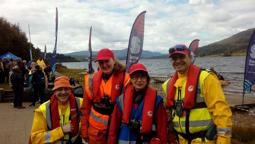 WJM SPONSOR OPEN WATER RESCUE