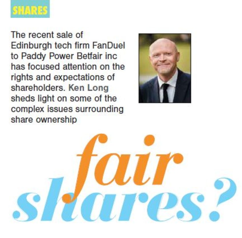 WJM Partner Ken Long Talks Share Ownership in Business HQ Magazine