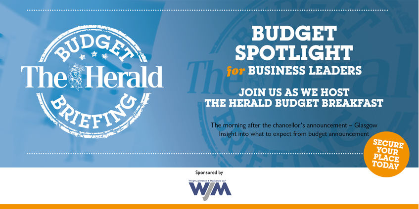 WJM Sponsors The Herald Budget Briefing 2019