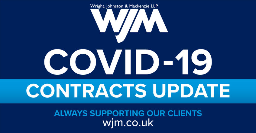 Your Contracts and Covid 19 – What's the Law?